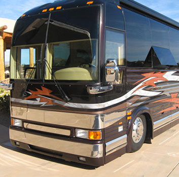 rv rental near Mustang