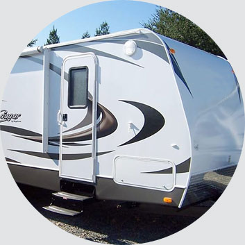 travel trailer rental Banning CA