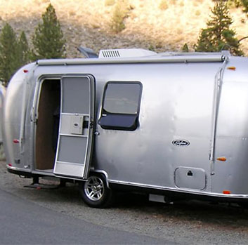 travel trailer rental Chino CA
