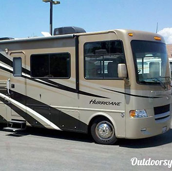 class a motorhome rental Martha Lake WA