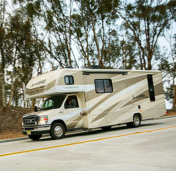 class c camper rental Big Bear Lake CA