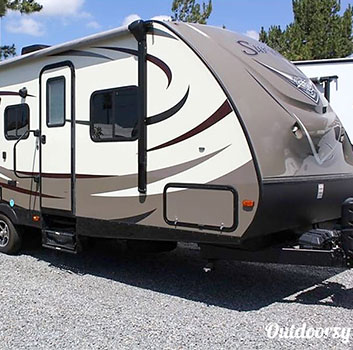 where to rent travel trailer Fuquay NC